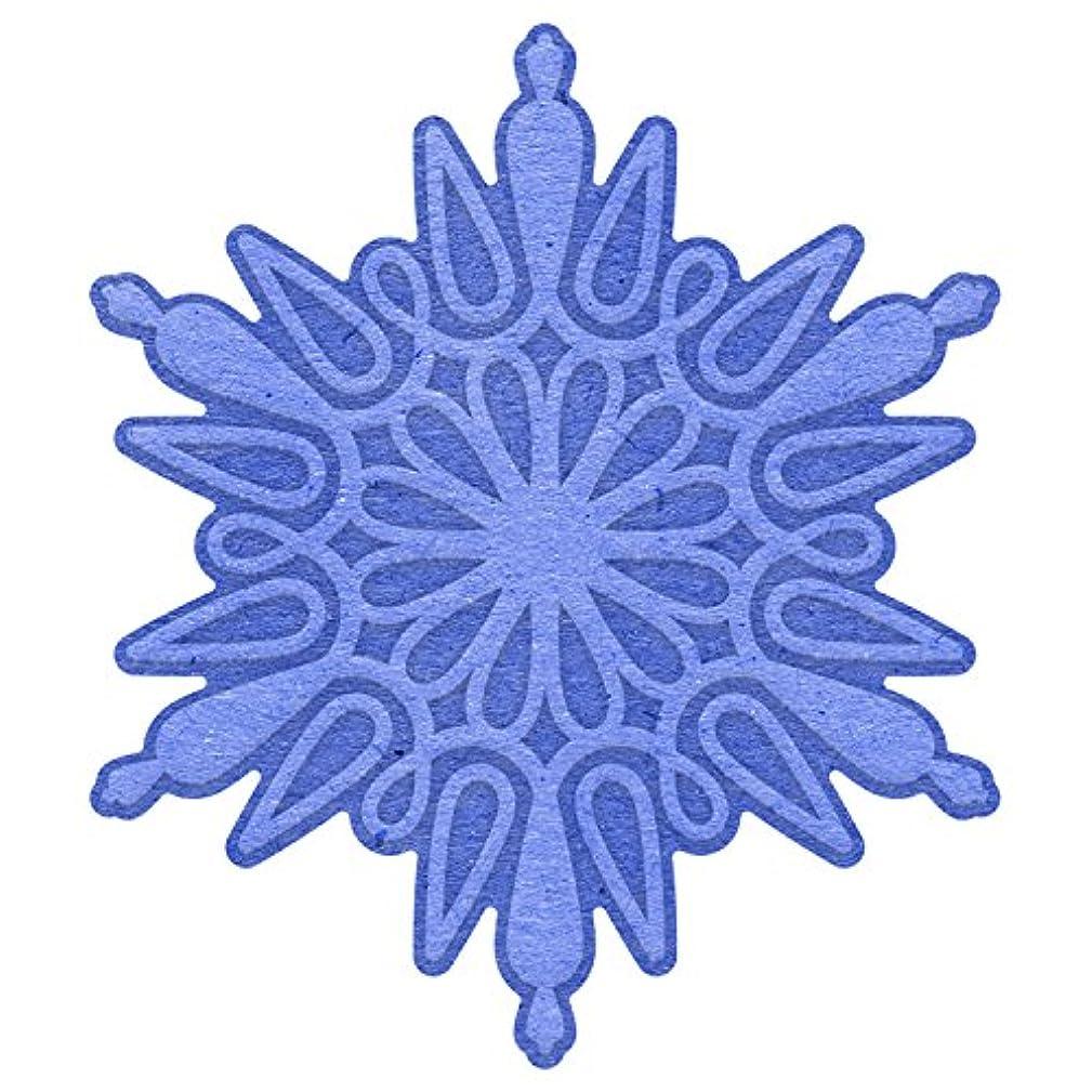 Cheery Lynn Designs Emboss Snowflake 3 Scrapbooking Die Cut Set, 2 Piece
