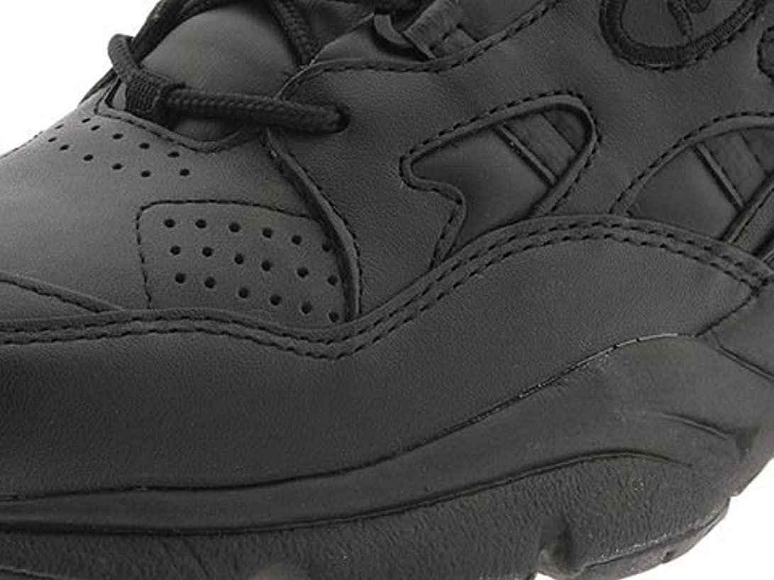 イタリアのデータム北米(プロペット)Propet レディースウォーキングシューズ?カジュアルスニーカー?靴 Stability Walker Medicare/HCPCS Code = A5500 Diabetic Shoe Black Leather 7 24cm XX (4E) [並行輸入品]