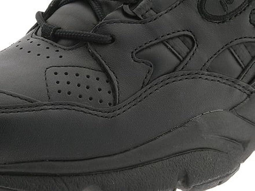 却下するオフェンス邪魔[プロペット] レディースウォーキングシューズ?カジュアルスニーカー?靴 Stability Walker Medicare/HCPCS Code = A5500 Diabetic Shoe Black Leather 9 26cm M (B) [並行輸入品]