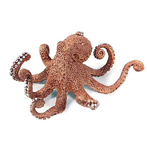 Kekailu Simulation Octopus Marine Animals PVC Model - Realistic Animal Decorative Collectible Toys for Kids, Children, Toddlers - Perfect for Party Favors, Birthday Gifts, Home Ornament