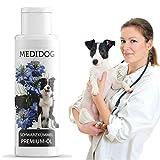 Medidog Premium Schwarzkümmelöl für Hunde, Nativ + Kaltgepresst, wichtige Fettsäuren und...