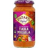 Patak´s - Salsa India para Cocinar - Tikka Masala - Tomate Cremoso y Aromatico - 450 Gramos
