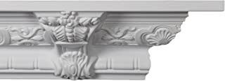 Crown Molding - Plastic Crown Moulding Manufactured with a Dense Architectural Polyurethane Compound. CM-1059-3 moldings
