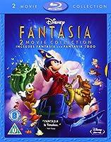 Fantasia / Fantasia 2000 2-Movie Collection [Blu-ray] [Region-Free]