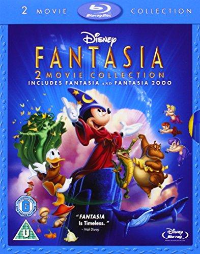 Fantasia & Fantasia 2000 [Reino Unido] [Blu-ray]