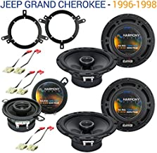 Compatible with Jeep Grand Cherokee 1996-1998 OEM Speaker Replacement Harmony Upgrade Package