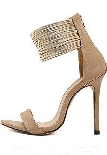 Amazon.it: sandali donna con tacco e plateau Cerniera