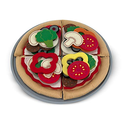 Melissa & Doug - 13974 - Cibo in Feltro - Set per  Pizza