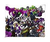 JAZC Puzzles Puzzle Puzzle Transformers Optimus Prime Megatron película del avispón 300/500/1000/1500 Rompecabezas de Madera for los Hijos Adultos (Color : C, Size : 1000P)