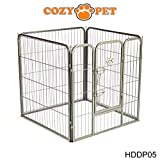Cozy Pet Heavy Duty Play Pen for Dogs Puppies Rabbits Guinea Pigs, Puppy