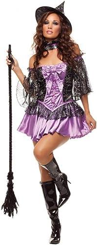 Shisky Costume Cosplay Femme, Bal Costume Reine HalFaibleeen Witch Costume Costume de Vampire Zombie Demon Costume