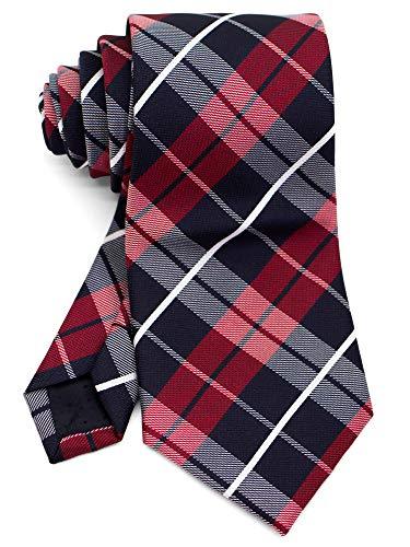 [ダブリューアンドエム] メンズ ネクタイ フォーマル ビジネス オフィス 8cm 幅 レギュラータイ 洗濯 可能 ...