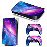 3CTOP High Qulaity Sticker Skin Protector Decals for PS5 Playstation 5 Console and 2 Controllers 9#