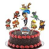 Cupcake Toppers,45 Piezas Adornos de cupcakes para niños,Topper de Tarta Cake Topper,Decoración para tartas,para DIY Decoración de Magdalenas (paw patrol)