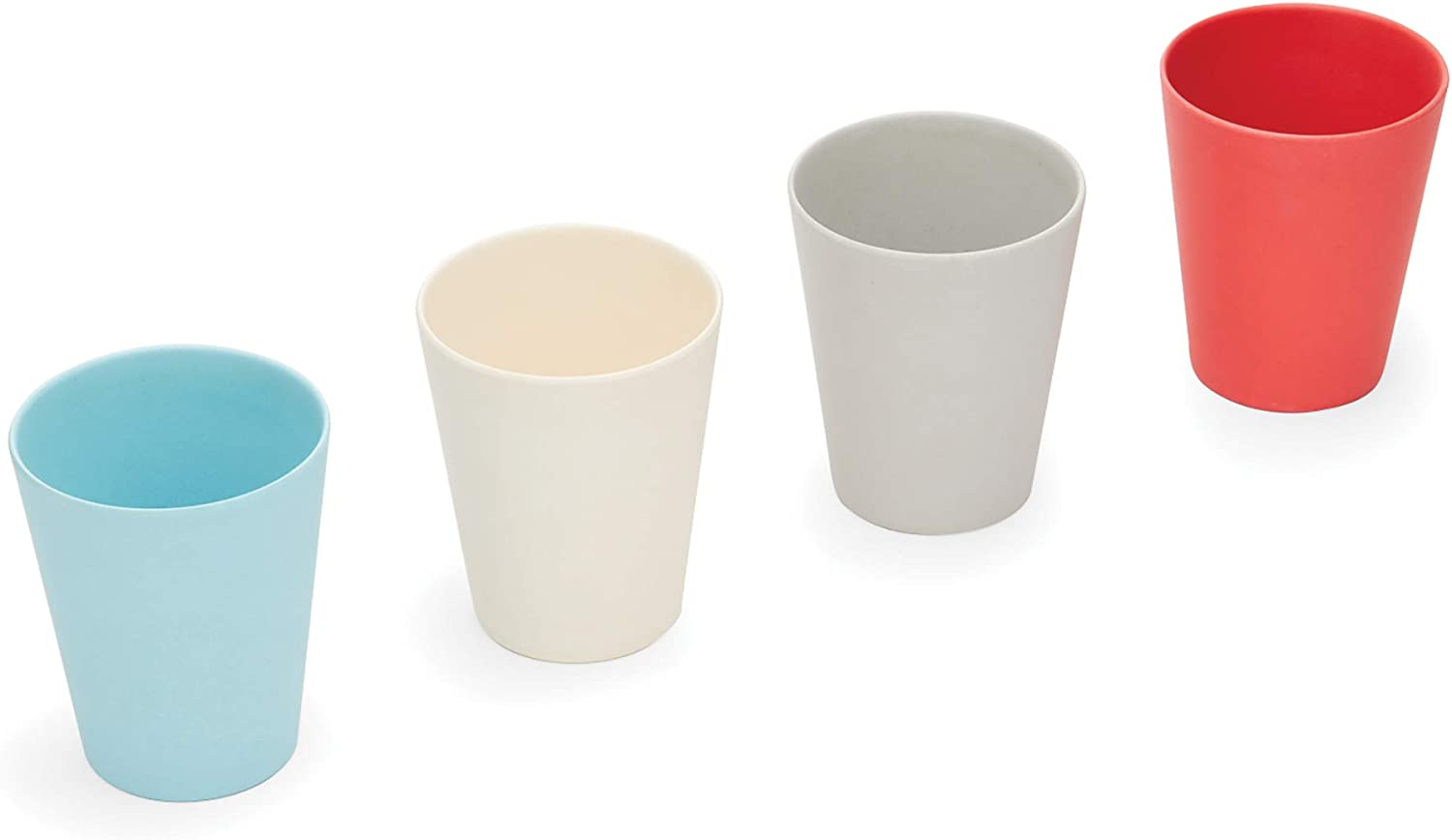 Red Rover Bamboo Kid's Cups Set of 4 Multicolor, Bamboo Kids' Cups
