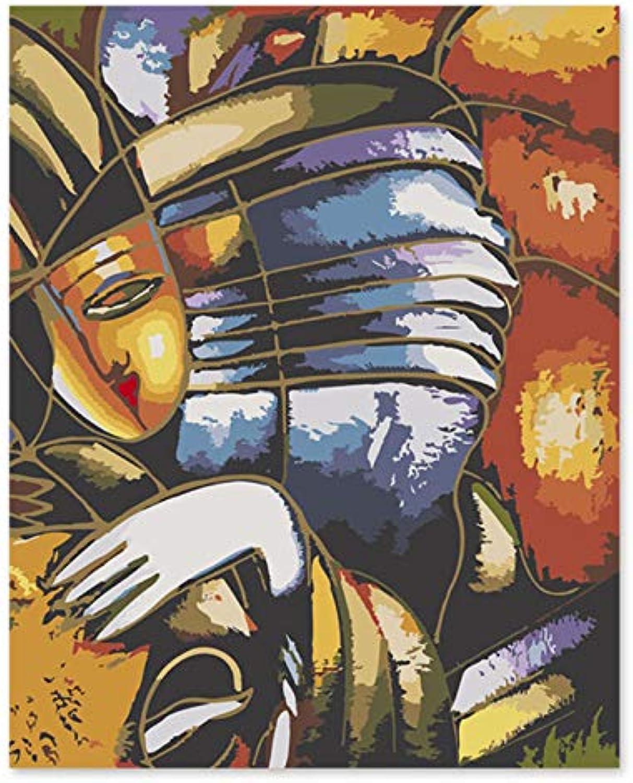 Digitales Ölgemälde Picasso abstrakt EIN berühmtes Gemälde Gemälde Gemälde Seiner eigenen Farbe DIY Hand Liantang Sommer Eindruck 40x50cm mit Rahmen B07K6LH7TT   Hochwertige Materialien  15b89b