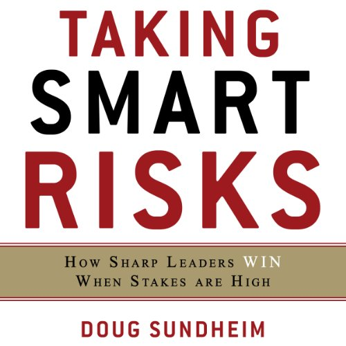 Taking Smart Risks audiobook cover art