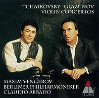 TCHAIKOVSKY: VIOLIN CONCERTOS/ GLAZOUNOV(reissue) by Maxim Vengerov (2011-07-20)