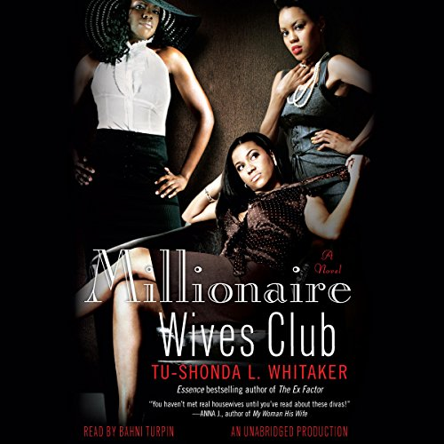 Millionaire Wives Club audiobook cover art
