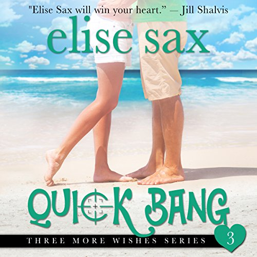 Quick Bang     Three More Wishes, Book 3              By:                                                                                                                                 Elise Sax                               Narrated by:                                                                                                                                 Angie Hickman                      Length: 2 hrs and 9 mins     23 ratings     Overall 4.4