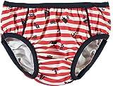 Name it 13147554 Badehose Windelhose Schwimmen lernen Streifen Anker Maritim (74-80)
