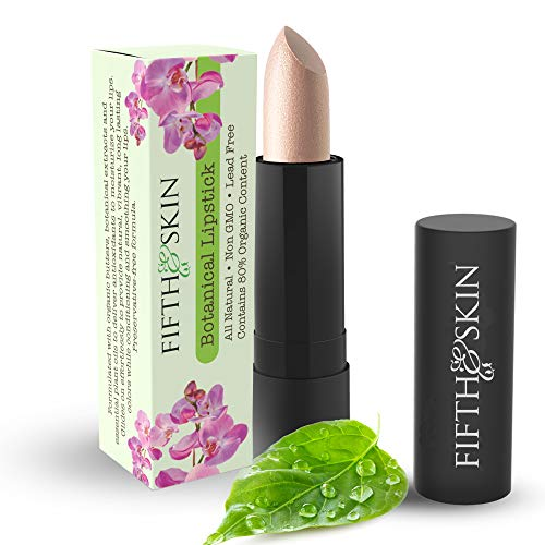 Botanical Lipstick (JICAMA) Natural & Gluten Free Lipstick – Clean Ingredients - Cruelty Free - Lead Free - Paraben Free - Moisturizing Lip Color