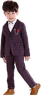 Cuteshower 男の子 スーツ 入学式 フォーマル スーツ 子供服 卒業式 ベストスーツ