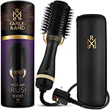 Professional Hair Dryer Brush for Women, 2 in 1 Volumizing Brush Dryer, Oval Brush Blow Dryer 75MM with a Hard Travel Case and Premium Gift Box
