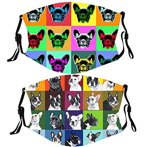 French Bulldog Gifts Funny Face Cover Merch Gear Christmas Decor Merchandise Party Decorations Gifts for Women Men Adults Kids