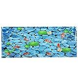 Jeanoko El PVC del cartel del fondo de los tanques de peces engrosan para la vida acuática para el acuario