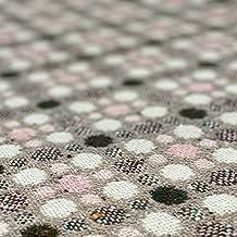 【ヴィンテージドットチェック】 50cm~販売 水玉模様が可愛い 太めの糸で織りあげられている為他とは一風変わった風味が味わえます。ドット かわいい ヴィンテージ オシャレ