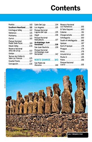 Lonely Planet Chile & Easter Island (Travel Guide) [Idioma Inglés]