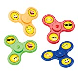 SmileMakers Emoji Fidget Spinners - Prizes and Giveaways - 24 per Pack