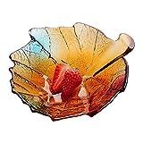 MotBach Cuenco de Frutas de cerámica, Cesta de Frutas, Sala de Estar de Estilo Europeo, Fruta Seca, tazón de Fruta, Mesa de té, Nueva decoración del hogar