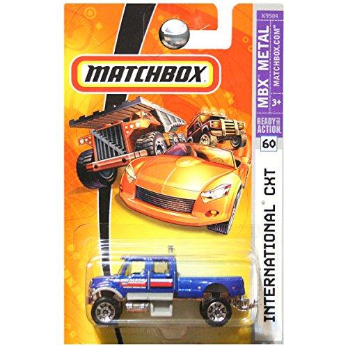 Matchbox 2007 MBX Metal International CXT Truck Blue #60