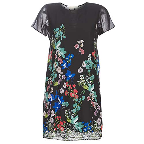 Desigual Damen Dress LORETHA Kleid, Schwarz (Negro 2000), (Herstellergröße: 42)