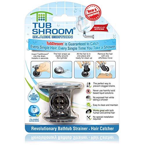 WENTS Drain Hair Catcher 20PCS Shower Chain Cleaner Hair Catcher Durable DrainWig Bath Shower Drain Hair Catcher Never Clean a Clogged Drain Again