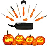 Secura Pumpkin Carving Tools - Professional Stainless 10 pc Carving Tools For Halloween...