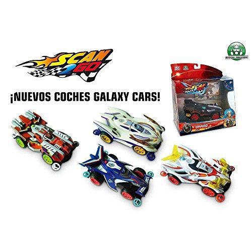 SCAN 2 GO - Coche Racing Galaxy Cars, 20 cm (Giochi Preziosi 30)