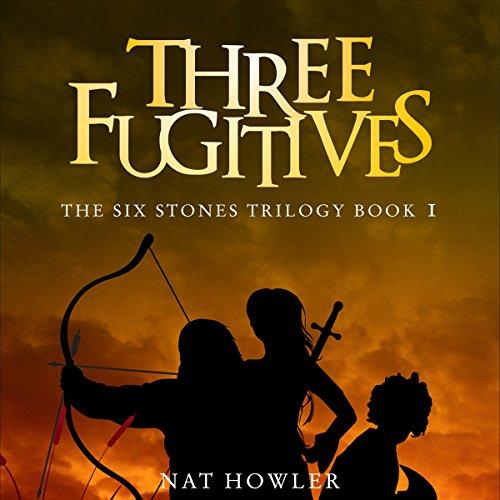 Three Fugitives audiobook cover art