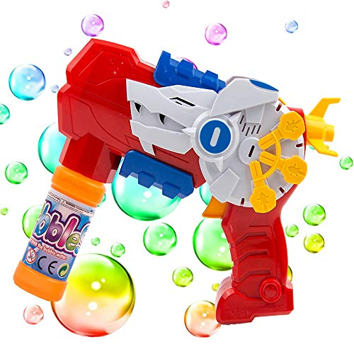 Toytykes Bubble Blower Machine for Kids- Bubble Gun Shooter with LED Light...