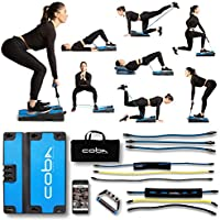CoBa GLUTE Full Home Workout System, Core & Booty Exercise Machine