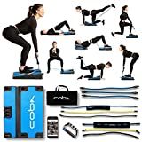 CoBa GLUTE Trainer - Full Home Workout System, Core & Booty Exercise Machine, Resistance Band Full...