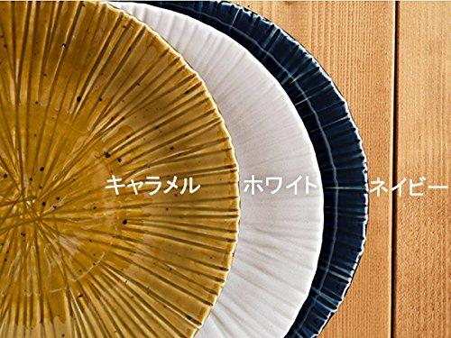 大皿 25cm 彫十草 minoruba