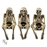 Nemesis Now NEM4341 - Figura de Esqueleto (24 cm), Color Marfil