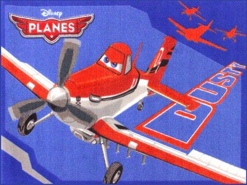 Disney Planes Flugzeug Teppich Kinderteppich | Spielteppich 95x133 cm P01