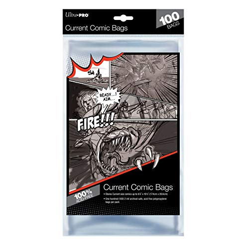 Ultra Pro Comic Bags (100-Piece)