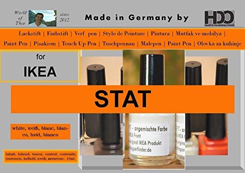 HDO Farbstift Retuschierstift IKEA Front STAT Weiss