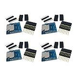 Loriver 4PCS Nuevo Escudo de Tarjeta Micro SD para WeMos D1 Mini TF WiFi ESP8266 Arduino Herramienta Caliente Nuevo Set