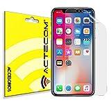 ACTECOM Protector de Pantalla TPU Hidrogel compatible con Iphone X, Xs, 11 Pro Flexible Membrana Lámina Protectora Cubierta Protectora